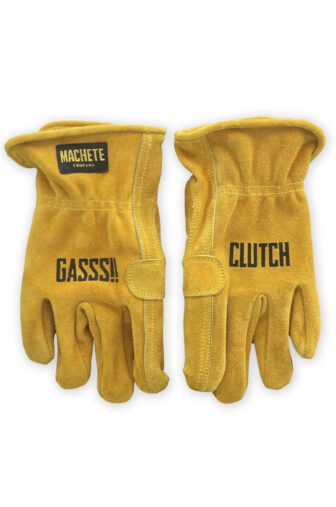 Moto gloves suede leather, printed with serigraphy