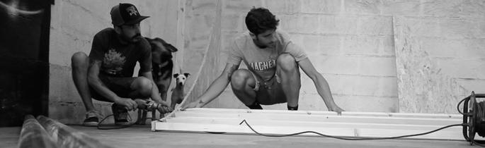 Mondaka, skate, flow & build