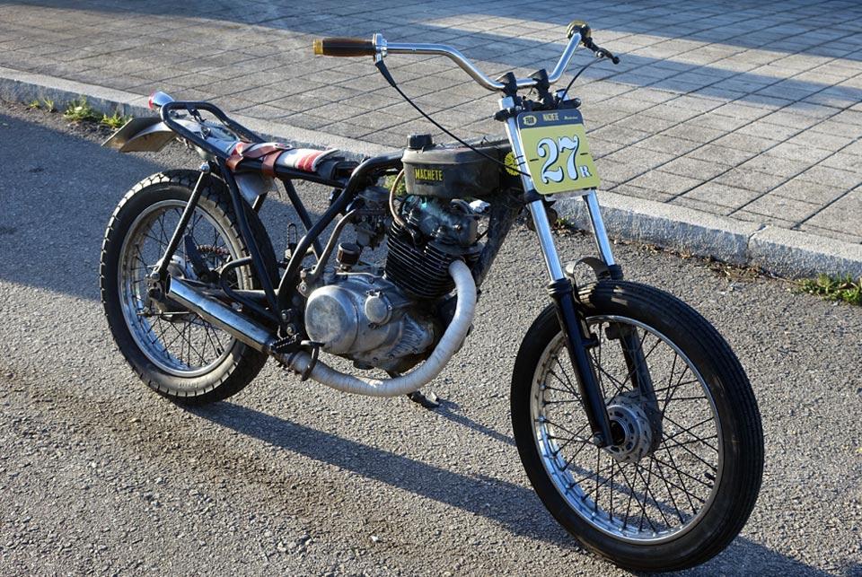 YAMAHA SR 250 | DRAG RACE
