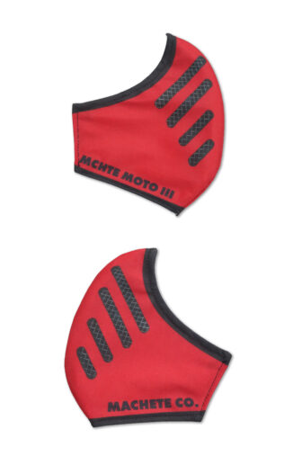 Bell moto 3 covid 19 mask in red color