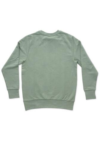 backside of sweatshirt sage green