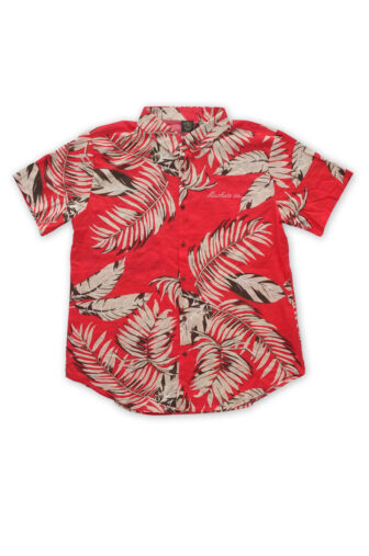 hawaian red shirt