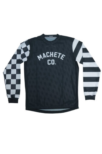 Front flat track jersey